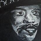 Jimi Hendrix 100 % pure by Rob van Hooff