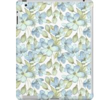 Branch with delicate flowers.  Color 2 iPad Case/Skin