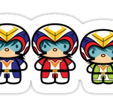 Chibi-Fi Voltes Team Sticker
