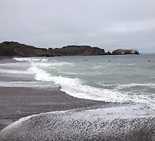 Marin Headlands Beach by hitomimyhomie