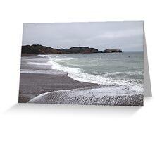 Marin Headlands Beach Greeting Card