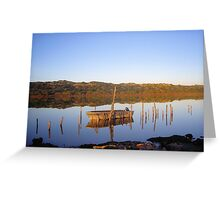 Mirror Image I - South West Victoria Greeting Card