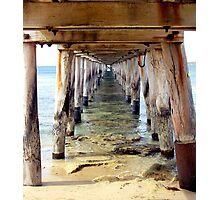 Bridges - Pt Lonsdale Photographic Print