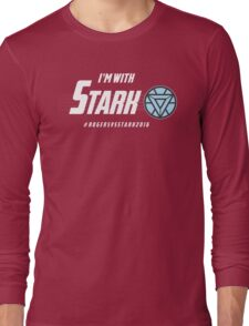 I'm with: Stark Long Sleeve T-Shirt