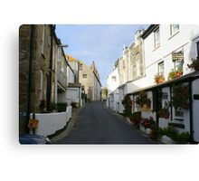St Ives Cornwall streetscape Canvas Print