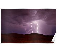 Lightning Outback Poster