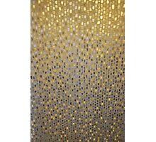 Golden Texture Photographic Print