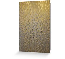 Golden Texture Motion Greeting Card