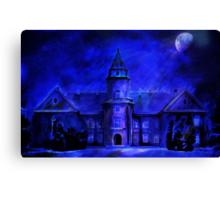Winter Castle Canvas Print