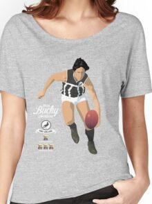 Bucky Cunningham (Port Adelaide) – on Faletic Gray Women's Relaxed Fit T-Shirt