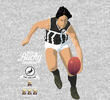Bucky Cunningham (Port Adelaide) – on Faletic Gray Unisex T-Shirt