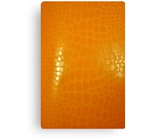 Orange Abstract Background Canvas Print