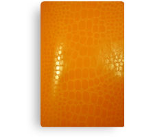 Orange Abstract Background Canvas Print