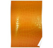 Orange Abstract Background Poster