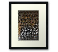 Abstract Net Background Framed Print