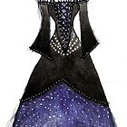 """Queen of the Night"" dress by Dorothea Baker"