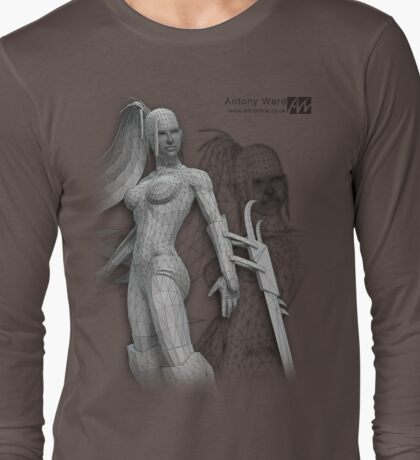 Cyber Wire Long Sleeve T-Shirt