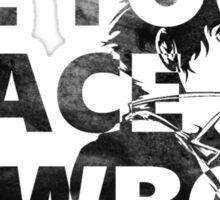 Cowboy Bebop See You Space Cowboy Sticker