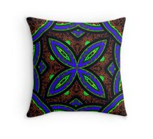 Psychedelia v1 Throw Pillow