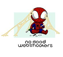 No good Webshooters Photographic Print