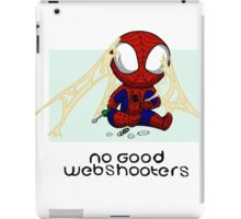 No good Webshooters iPad Case/Skin