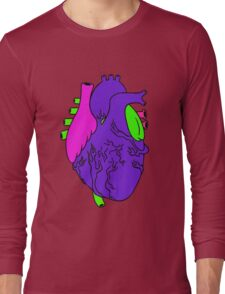 Heart Arty verison colour  Long Sleeve T-Shirt