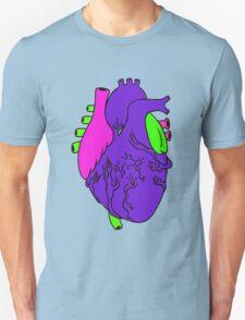 Heart Arty verison colour  Unisex T-Shirt