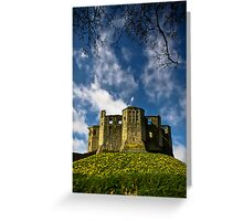 Warkworth Castle and Hermitage Greeting Card