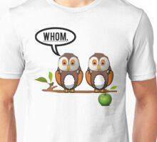 WHOM OWL Unisex T-Shirt