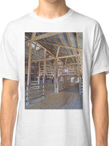 Across the shearing shed, Callandoon, Queensland, Australia Classic T-Shirt