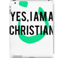 Yes, I am a  Christian Nun Symbol iPad Case/Skin