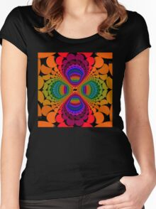 Color Chips 2 Women's Fitted Scoop T-Shirt