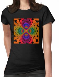 Color Chips 2 Womens Fitted T-Shirt