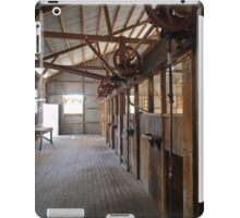 Shearers' Stands, Callandoon, Queensland, Australia iPad Case/Skin