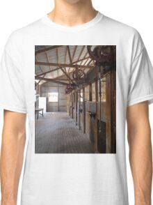 Shearers' Stands, Callandoon, Queensland, Australia Classic T-Shirt