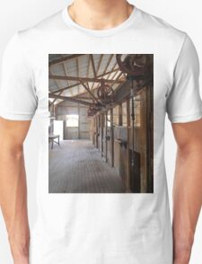 Shearers' Stands, Callandoon, Queensland, Australia Unisex T-Shirt