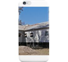 Callandoon Shearing Shed,  Qld. Australia (panorama) iPhone Case/Skin