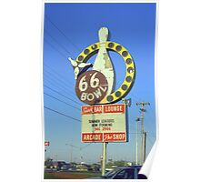 Route 66 Bowl Poster