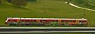 Slovenian Train (panorama) by Margaret  Hyde