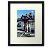 Route 66 - Ann's Chicken Fry House Framed Print