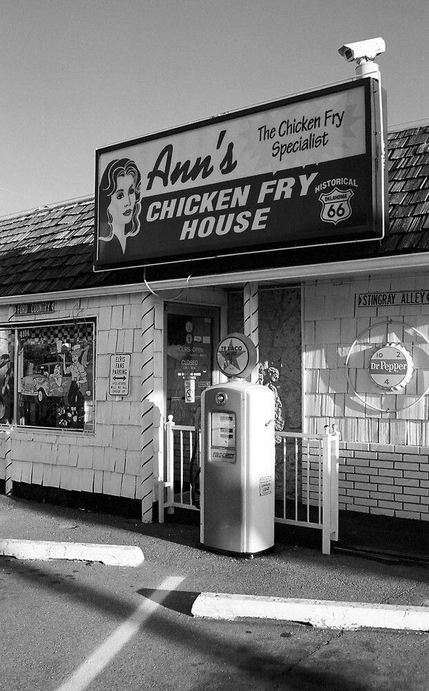 Route 66 - Ann's Chicken Fry House by Frank Romeo