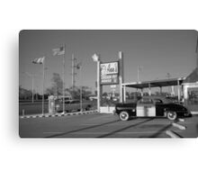 Route 66 - Ann's Chicken Fry House Canvas Print