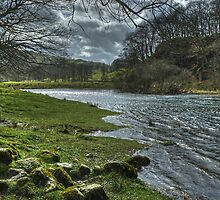 The River Brathay by Elterwater by VoluntaryRanger