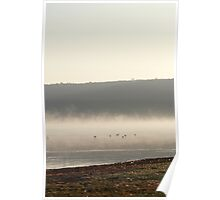 Lake Nakuru one early morning in March Poster