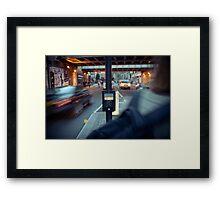 Wait Framed Print