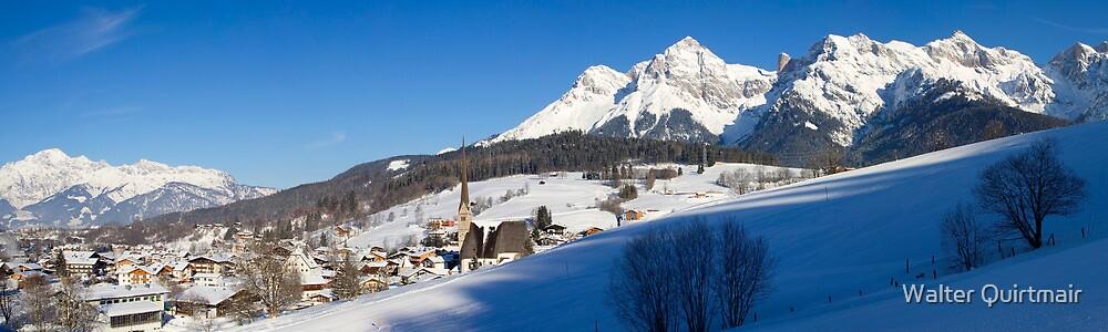 Alpine Village by Walter Quirtmair