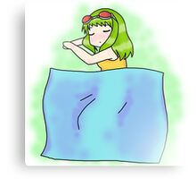 Sleeping Gumi Canvas Print