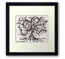 The Useless Tree Framed Print