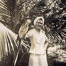 Parrot Jungle in Miami, FL 1945 by Charldia