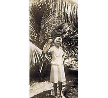 Parrot Jungle in Miami, FL 1945 Photographic Print
